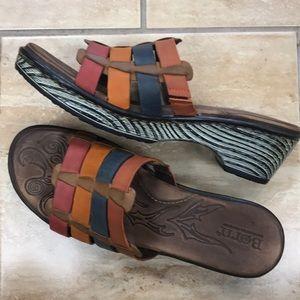 Born LoLo Brick Slides Mules